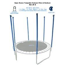 30 Piece Trampoline Enclosure Poles Kit