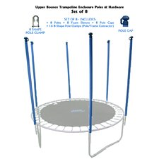 40 Piece Trampoline Enclosure Poles Kit