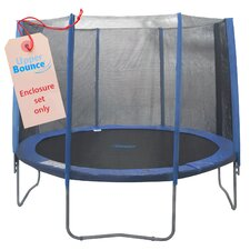 14' Round Trampoline Enclosure Set for 4/8 W Legs