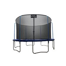12' Replacement Safety Trampoline Net Using 6 Poles