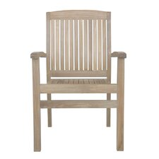 Sahara Stacking Dining Arm Chair (Set of 4)