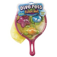 Dive Pet Fishing Net Pool Toy