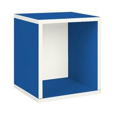 "Way Basics Eco Stackable 15.5"" Storage Cube Plus"