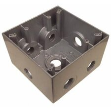 Weatherproof Boxes with 7 Outlet Holes