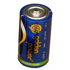 C Alkaline Batteries (Set of 6)