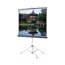 Picture King High Contrast Matte White Portable Projection Screen