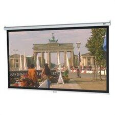 "Model B Matte White 109"" Manual Projection Screen"
