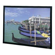 "Da-Tex Rear Projection Perm-Wall Fixed Frame Screen - 40 1/2"" x 72"" HDTV Format"