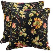 Felicite Cotton Throw Pillow (Set of 2)