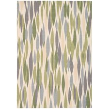 """Sun N' Shade """"Bits & Pieces"""" Violet Area Rug"""