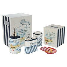 La Boracay 6 Piece Bath Accessory Set