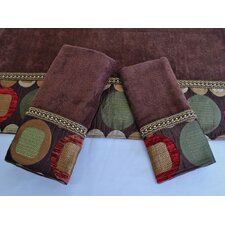 Metro Decorative 3 Piece Towel Set