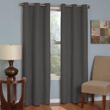 Microfiber Blackout Single Curtain Panel
