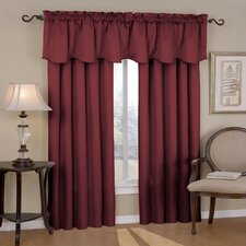 Canova Rod Pocket Window Curtain Panel