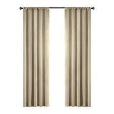 Madison Park Campbell Rod Pocket Drape Panel (Set of 2)