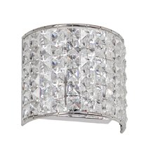 Crystal 1 Light Wall Sconce