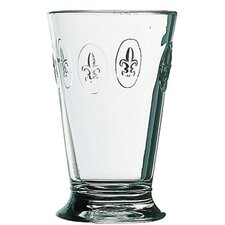 Fleur De Lys 12-ounce Fleur De Lys Double Old Fashioned Glasses (Set of 6)