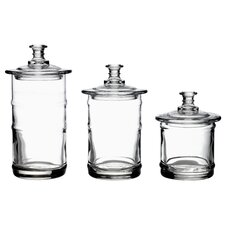 Apothecary 3 Piece Jar Set (Set of 3)