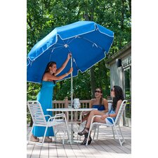 7.5 ft. Diameter Steel Commercial Grade Vinyl Patio Umbrella