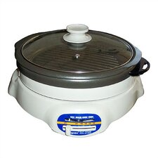 Shabu Shabu and BBQ Roaster with Lid