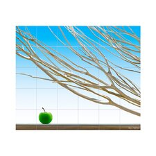 Branches Kitchen Tile Mural in Multi-Colored