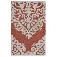 Caterine Hand-Tufted Red Area Rug