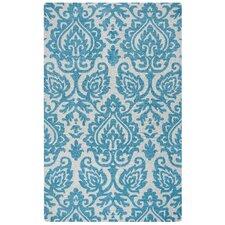 Marianna Fields Hand-Tufted Aqua/Blue Area Rug
