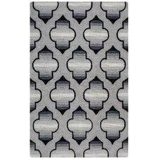 Valintino Hand-Tufted Gray Area Rug