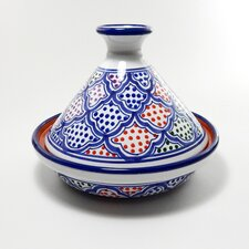 Cookable Tagine Round with Lid
