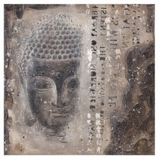 Subtle Buddha II Graphic Art on Wrapped Canvas