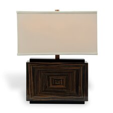 """Dylan 22"""" H Table Lamp with Rectangular Shade"""