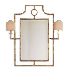 Doheny Mirror with Sconces