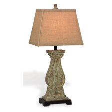 "Galiano 31"" H Table Lamp with Rectangular Shade"