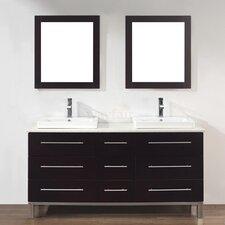 "Kinsa 63"" Double Bathroom Vanity Set"