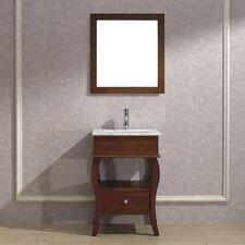 "Winzer 24"" Single Bathroom Vanity Set with Mirror"