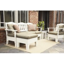 Westport 9 Piece Deep Seating Group with Cushions
