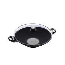 "14"" Non Stick Aluminum Wok with Lid"