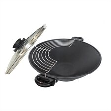 "14"" Wok with Lid and Two Helper Handles"