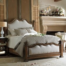European Farmhouse Hampton Hill Panel Bed