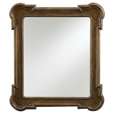 European Farmhouse Captain's Fluted Edge Mirror