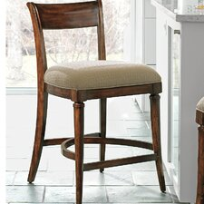 "Avalon 26"" Bar Stool with Cushion"