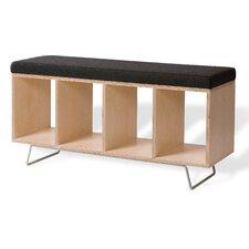 Birch Wooden Storage Bench