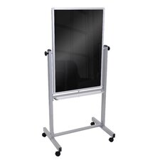 Marker Magnetic Free-Standing Chalkboard, 6' x 3'