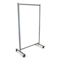 Divider Mobile Magnetic Whiteboard, 6' x 4'