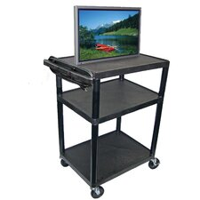 LP Series High Open Shelf TV Cart