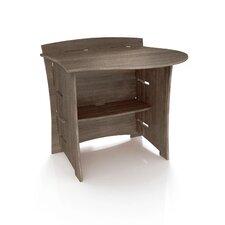 "Driftwood 32"" H x 31"" W Desk Peninsula"