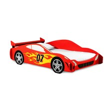 Red Race Twin Car Bed