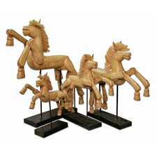Hinged Horse Figurine