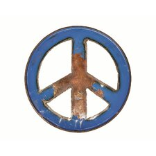 Cobal Blue Peace Sign