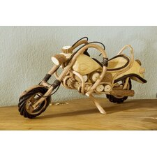 Model Motorcycle Sculpture